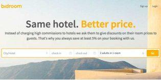 La expansión de Bidroom.com, la web de reservas con bajas comisiones para el hotel