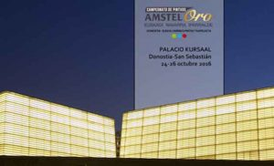 El Kursaal en el cartel anunciador del Campeonato de Pintxos de Euskal Herria