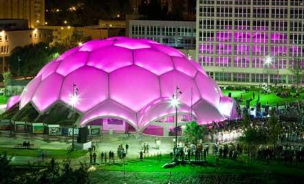 La Cúpula del Milenio, donde se celebra el Concurso de Pinchos y Tapas Ciudad de Valladolid