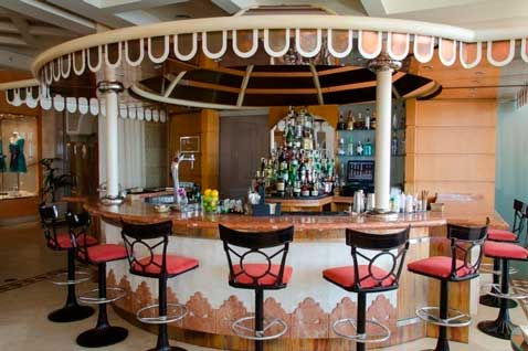 El cocktail bar del Gran Hotel Atlantis Bahía Real