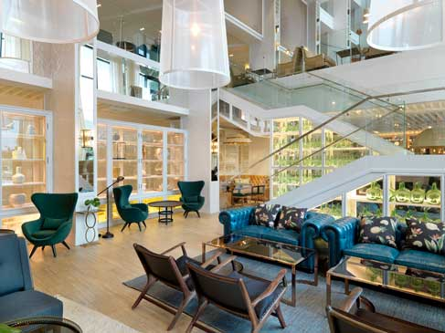Lobby del hotel Camiral