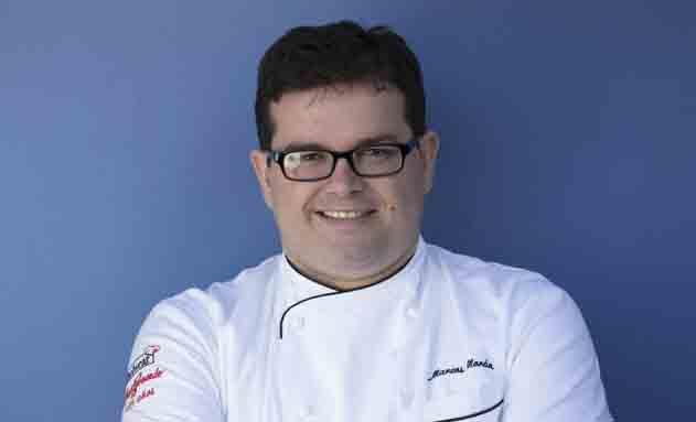 El chef Marcos Morán