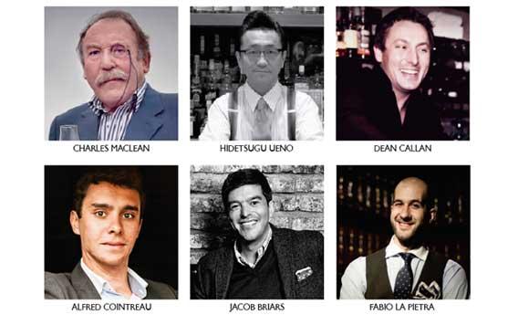 Algunos de los reconocidos profesionales que impartirán sus ponencias en Mixologya