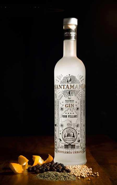 Ginebra Destilado 2 de Santamanía