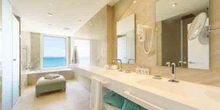 Lo último en tecnología de baño, en una suite de Mallorca