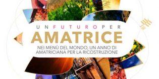 Gastronomía para ayudar a Amatrice, también desde España