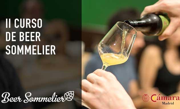 Cartel del curso Beer Sommelier