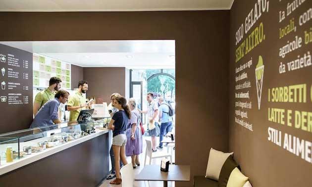 Heladería de la cadena italiana de helados artesanales Ciacco