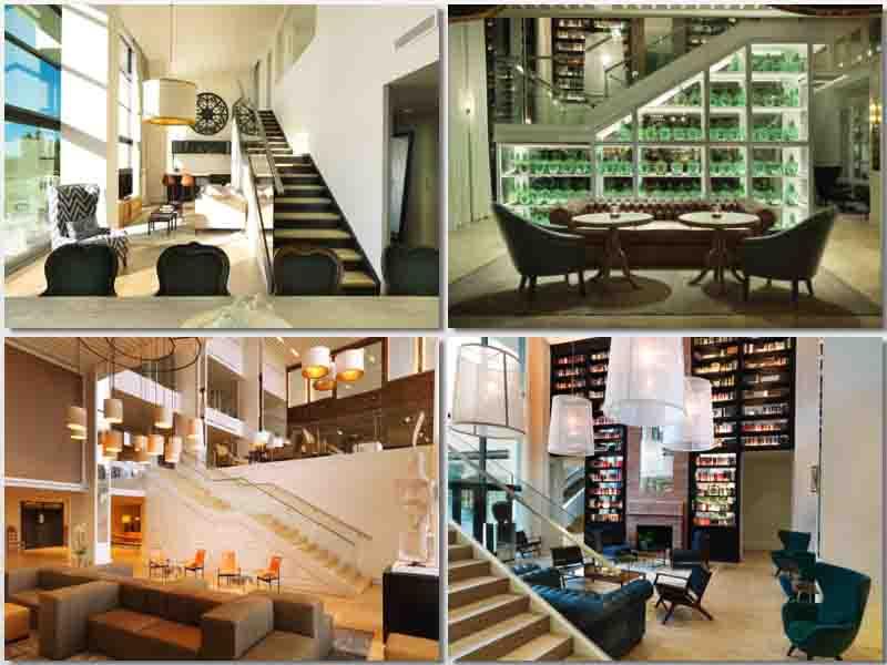 Imágenes del lobby del hotel Camiral