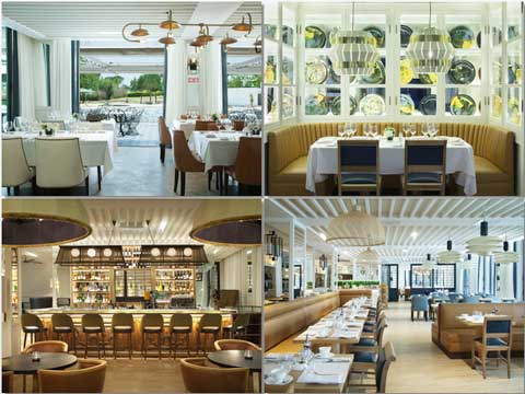 Restaurantes y bar del hotell Camiral