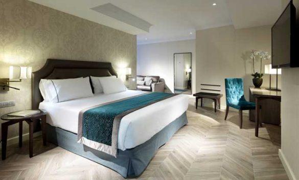 Confortable habitación del nuevo Eurostars Casa de la Lírica