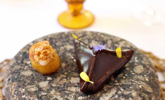 """""""El origen del cacao"""", un plato de inspiración mexicana de Samy Al"""