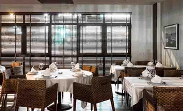El restaurante La Fragata, del Ibis Styles A Coruña