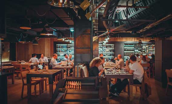 Restaurante Sagardi en Londres