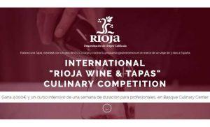 Logo del concurso Rioja Wine & Tapas