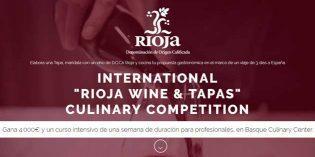 Rioja Wine & Tapas: concurso internacional de tapas para estudiantes de hostelería