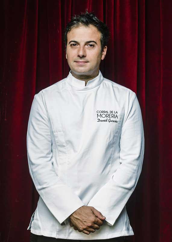 El chef David García