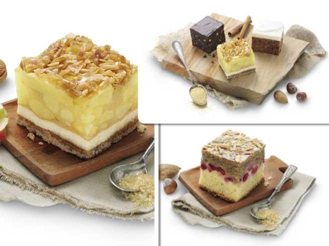 Diferentes Cubi-Cakes de Erlenbacher