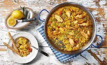 La paella valenciana de Espaella