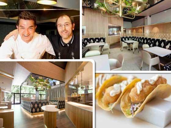 Imágenes del restaurante Mextizo, en Barcelona