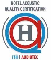 Logo del certificado de calidad acústica AQH