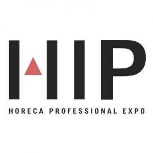 Logo de la feria HIP (Hospitality Innovation Planet)