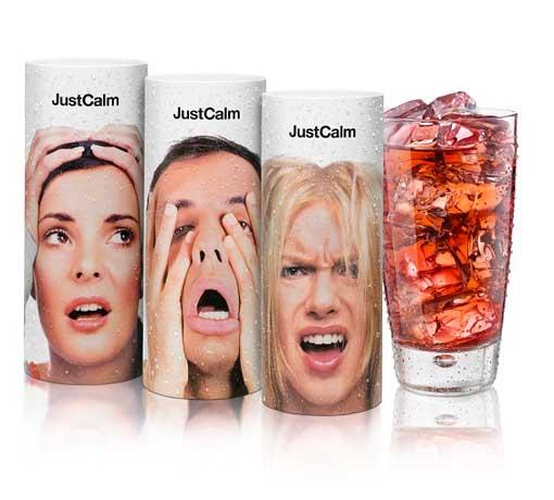 La potente y moderna imagen de las infusiones JustCalm