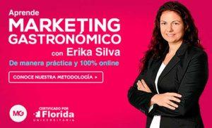 Erika Silva, directora del curso de Experto en Innovación y Gestión de restaurantes