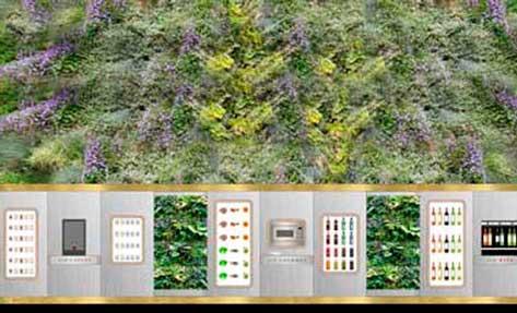 El vending gourmet de Air garden