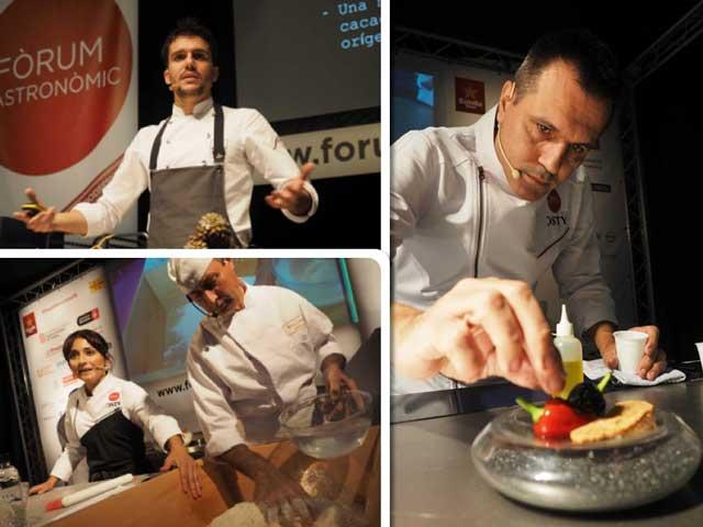 Chefs en el Fòrum Gastronòmic de Barcelona