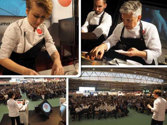 Chefs en el Fòrum Gastronòmic de Barcelona 16