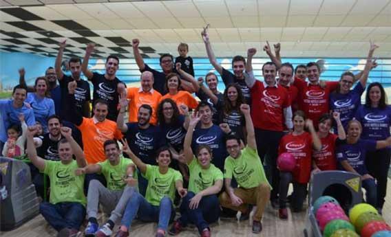 Participantes en los inter Hotel Games