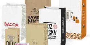 Bolsas de papel creativas para una perfecta imagen de su negocio