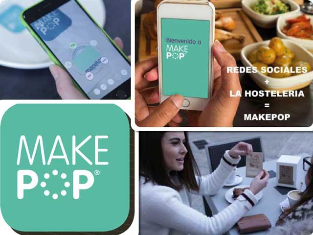 Imágenes de la app Makepop de Mapelor