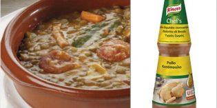Las múltiples aplicaciones de los Caldos Líquidos Concentrados Knorr