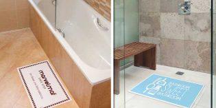 Marvelmat: alfombrilla antideslizante (y personalizable) para bañeras y duchas