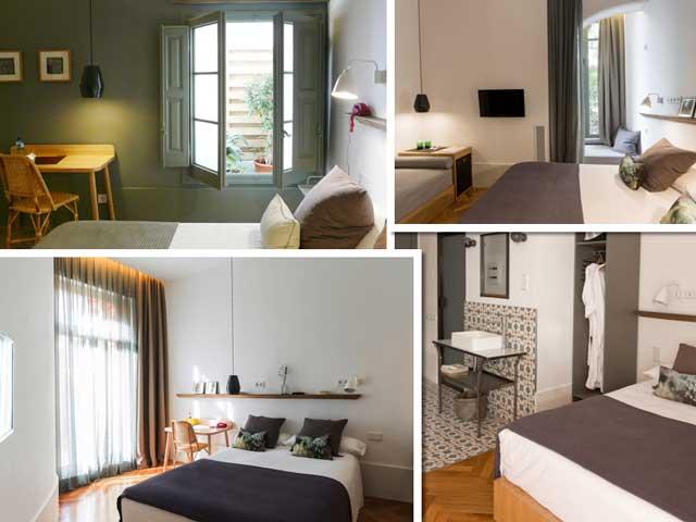 Habitaciones en casa Mathilda: todas diferentes, y todas sencillas, funcionales y acogedoras