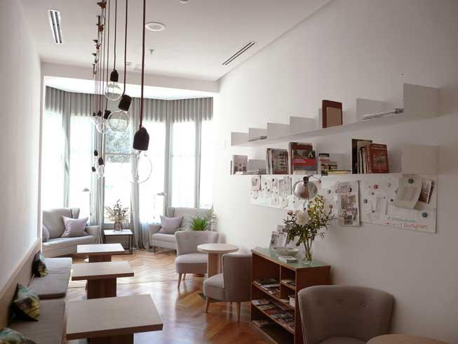 Sala común en Casa Mathilda