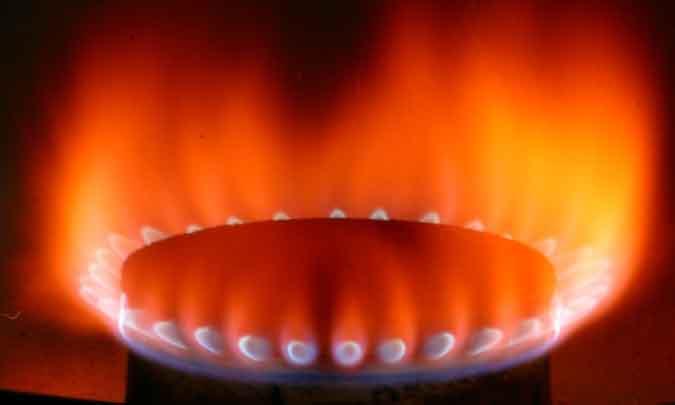 Quemador de gas natural