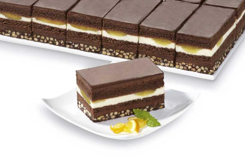 Plancha de chocolate y naranja de Erlenbacher
