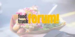 Food Truck Forum: una oportunidad de negocio para proveedores hosteleros