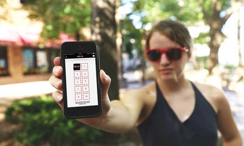 App de Udon en el móvil