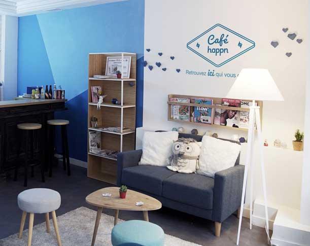 El primer Happn Café tiene un look doméstico y alternativo