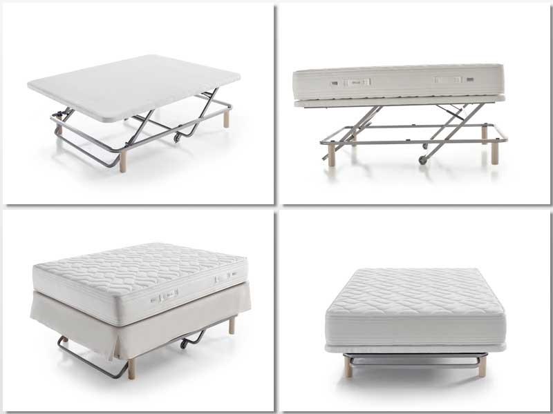Imágenes de la estructura de la cama Eleval