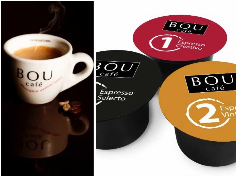 Las cápsulas profesionales de Bou Café garantizan un espresso perfecto