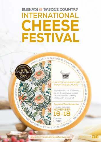 Cartel del World Cheese Festival