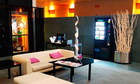 Expendedora Mobiloso en en hotel Tryp de Barcelona