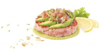 Nuevas hamburguesas de autor de Koama: de atún y de rabo