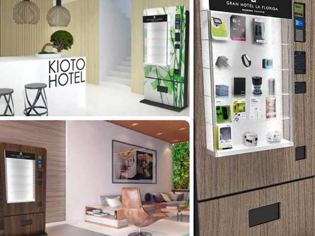 Las expendedoras Mobiloso se adaptan a la estética de cada hotel