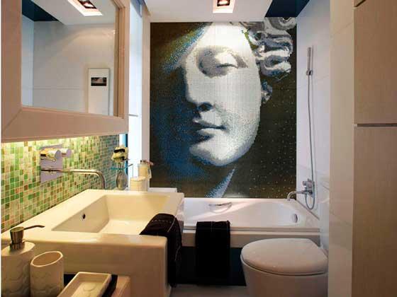 """La solución decorativa de los """"mosaicos"""" Monzenzi"""